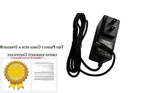 UpBright New AC DC Adapter GOLDS gym stride trainer Elliptical Supply Cord Charger