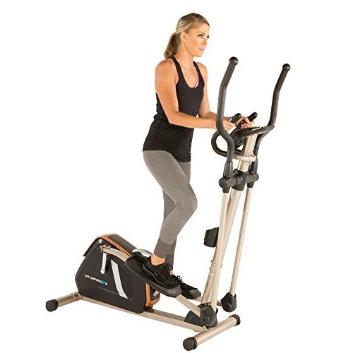 Exerpeutic Gold 2000XLST Smart Technology Elliptical Trainer with Workout