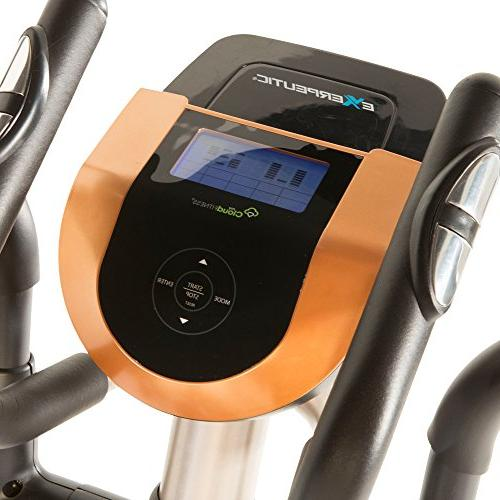 Exerpeutic Gold 2000XLST Smart Technology Trainer with Workout
