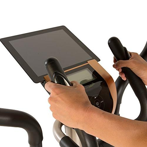 Exerpeutic 2000XLST Bluetooth Smart Elliptical with