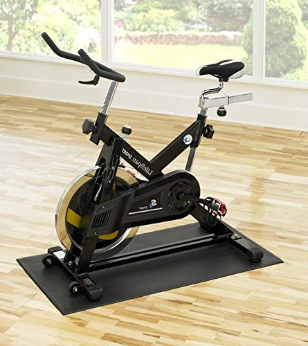 Supermats Equipment U.S.A. for Indoor Cycles Exercise Bikes Steppers
