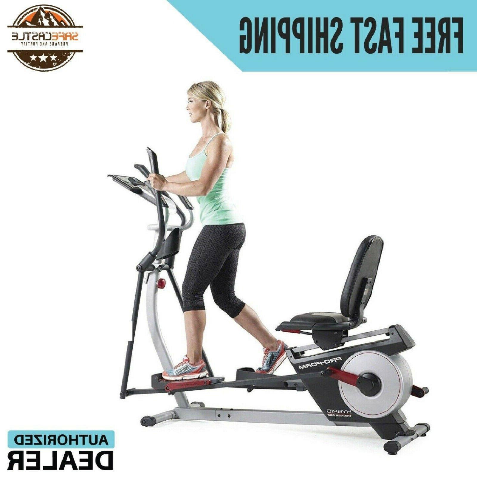 hybrid trainer pro elliptical machine pfel05815