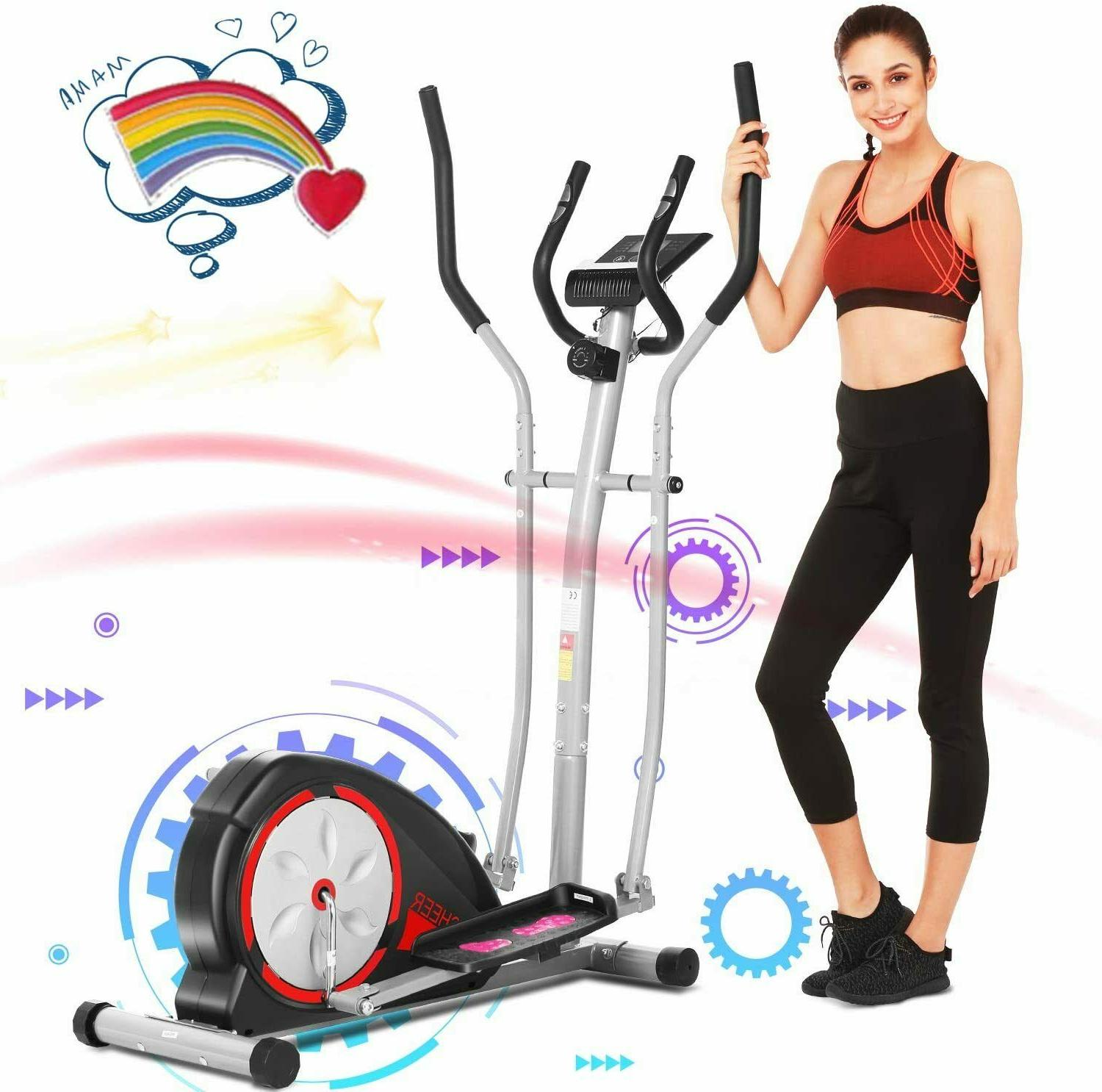 ANCHEER Magnetic Elliptical Exerciser Fitness Training Machi