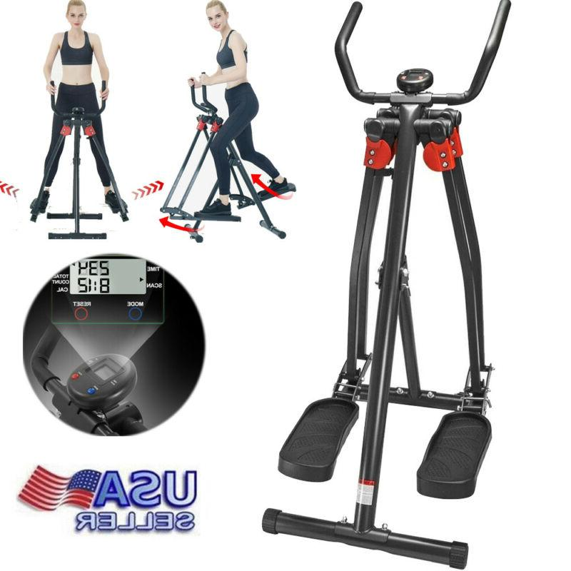 indoor elliptical exercise machine fitness home gym