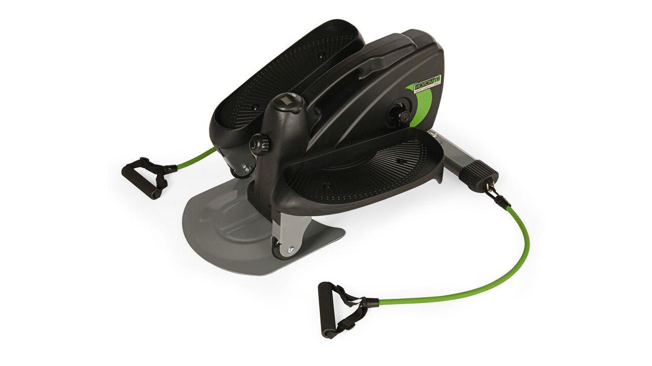 inmotion compact elliptical trainer mini cardio strider