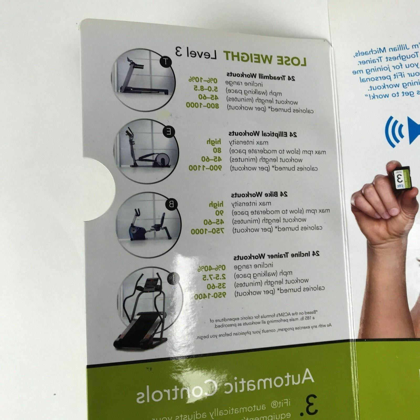 ifit Jillian Weight Card Treadmill
