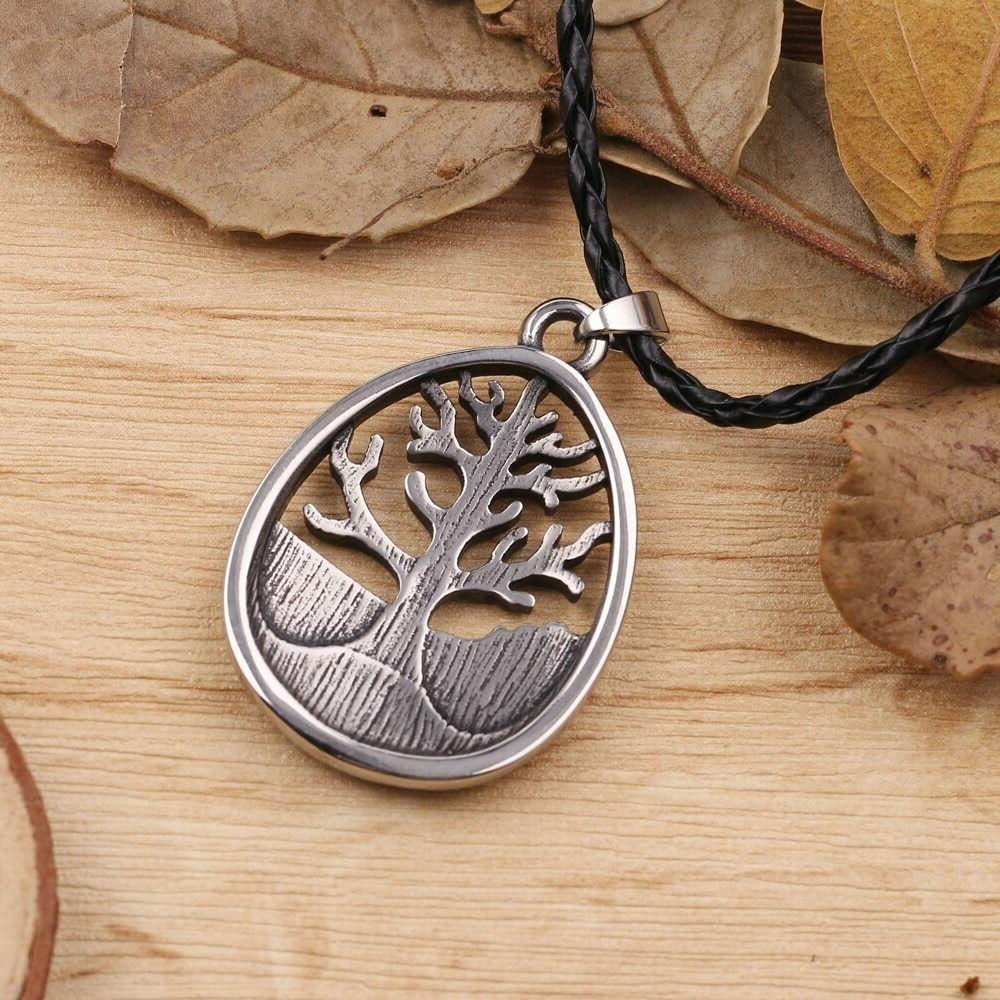Large Celtic Life Leather Alloy