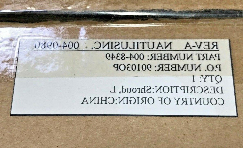 Nautilus Left Shroud # 004-8349