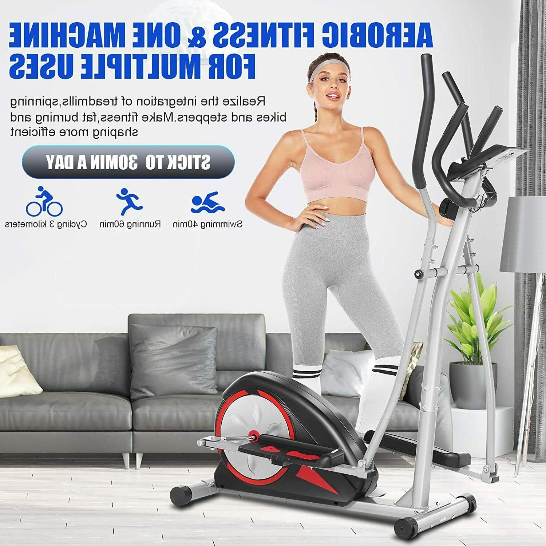 magnetic elliptical exercise fitnesstraining machine home sp