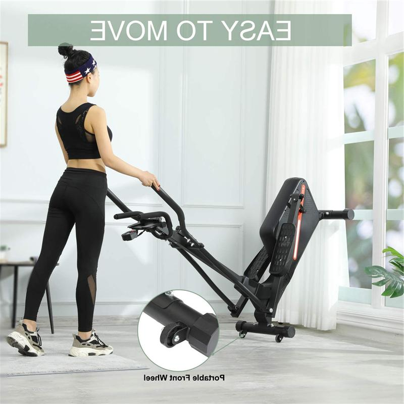 Magnetic Elliptical Fitness Black