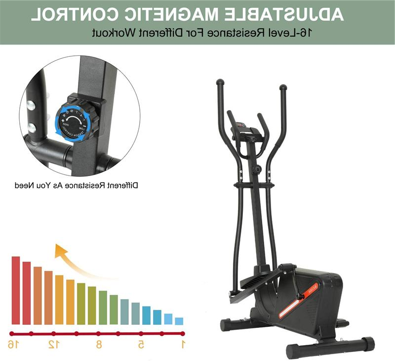 Magnetic Machine Fitness Black