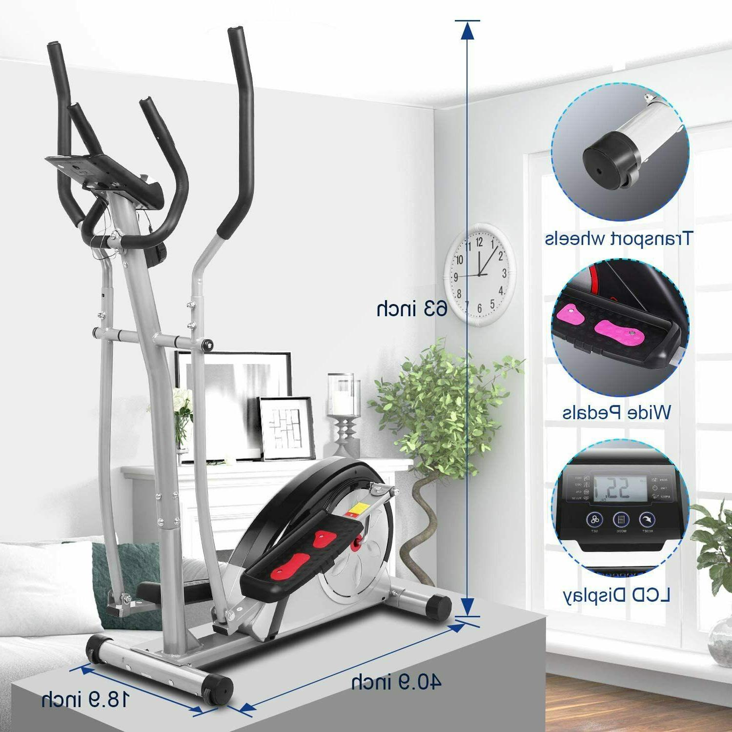 magnetic elliptical exercise fitnesstraining machine home sp