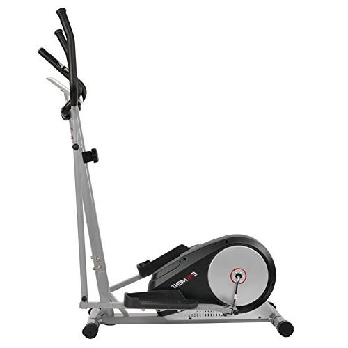 EFITMENT Magnetic Elliptical Trainer Pulse Rate - E006