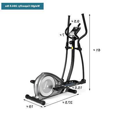 Magnetic Elliptical Trainer Fitness Exercise