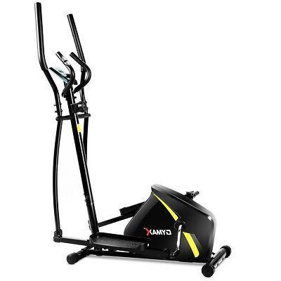 magnetic elliptical machine trainer smooth quiet driven