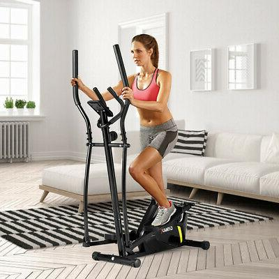 Magnetic Elliptical Monitor Home Gym