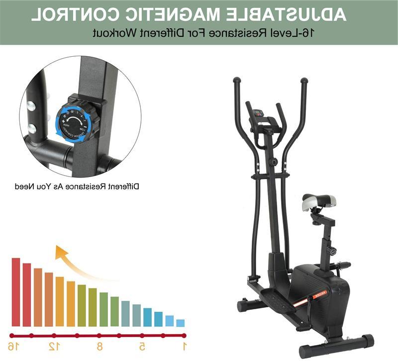 Elliptical Cardio Equipment Magnetic Resistance Seat
