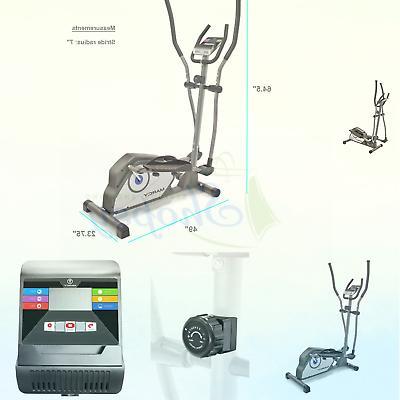 magnetic elliptical trainer cardio workout machine