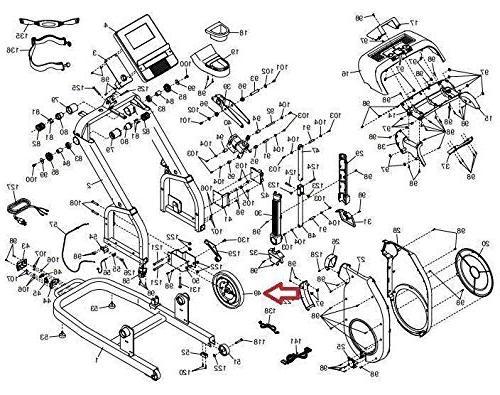 Icon Health Inc. Magnetic Brake Flywheel 363759 Works