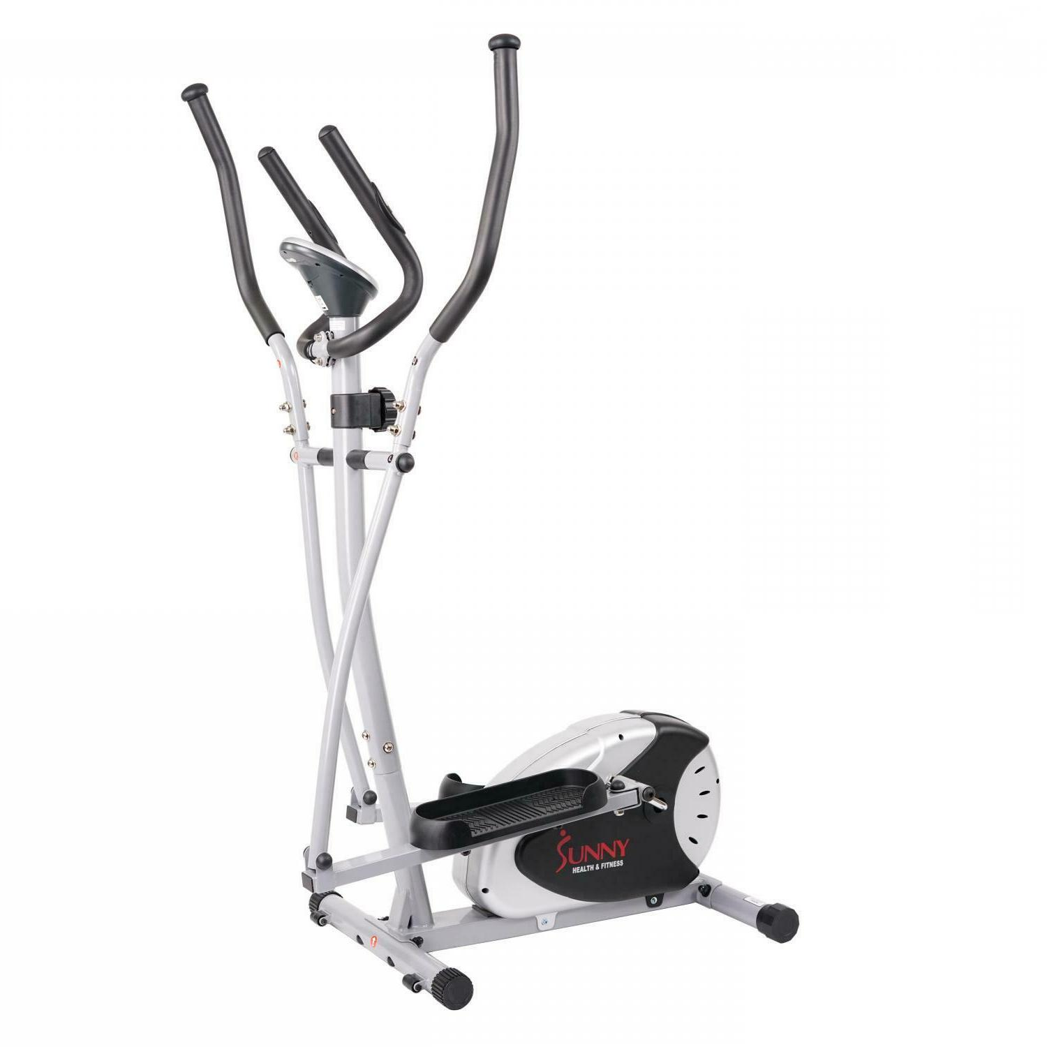 Magnetic Elliptical Bike Trainer w/ Large Pedals &