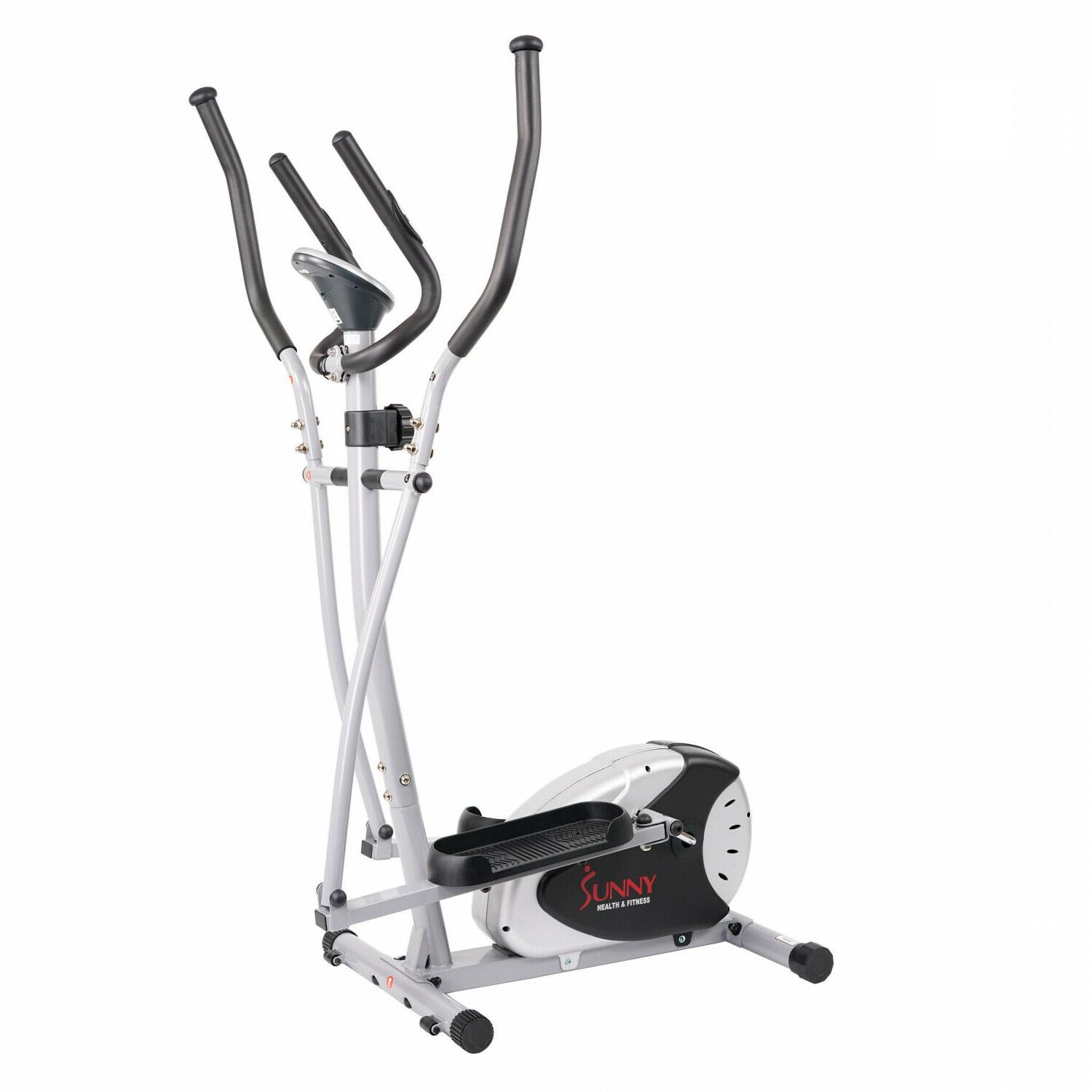magnetic resistance elliptical bike trainer w large