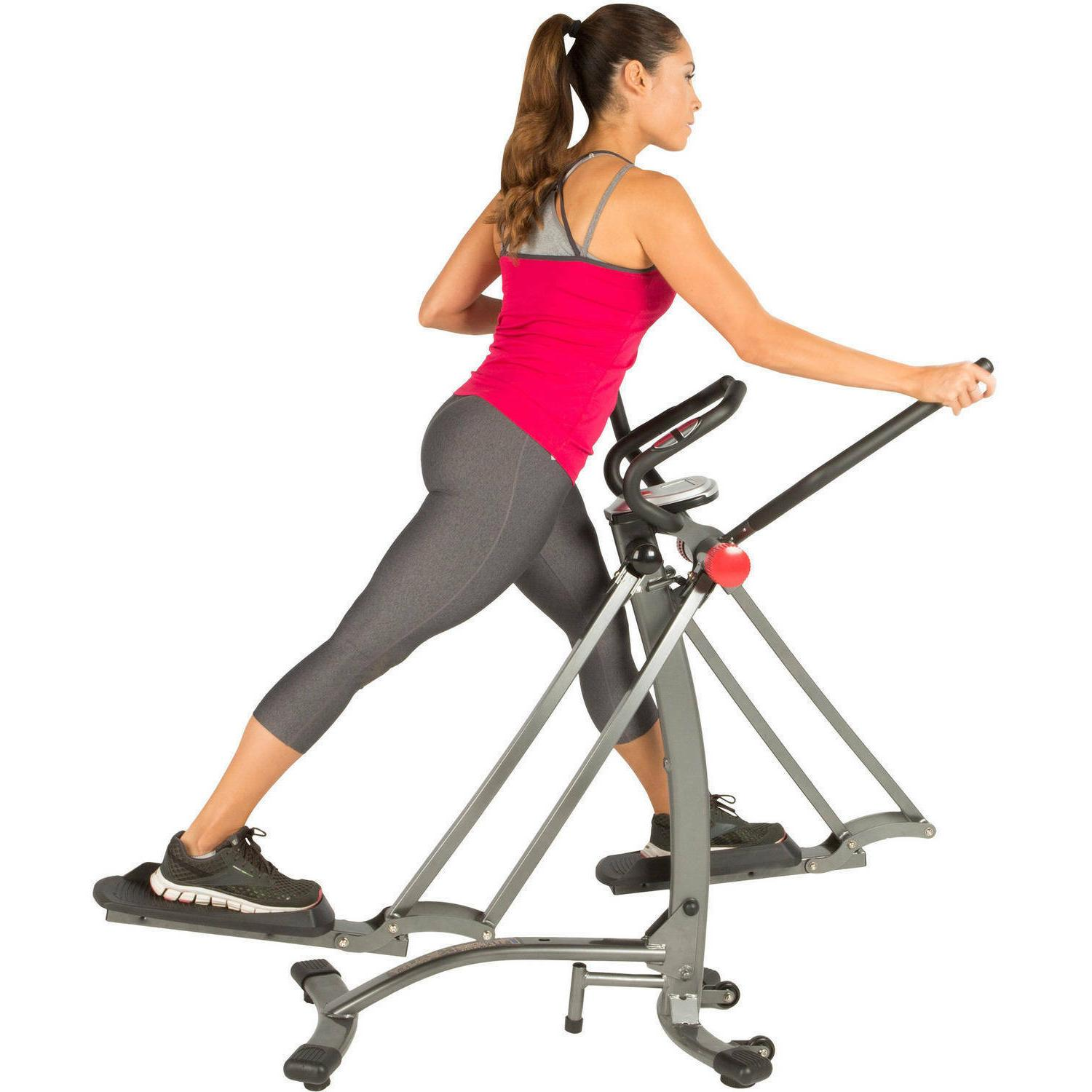Air Exercise Trainer Elliptical Bike Fitness Machine Home Wo