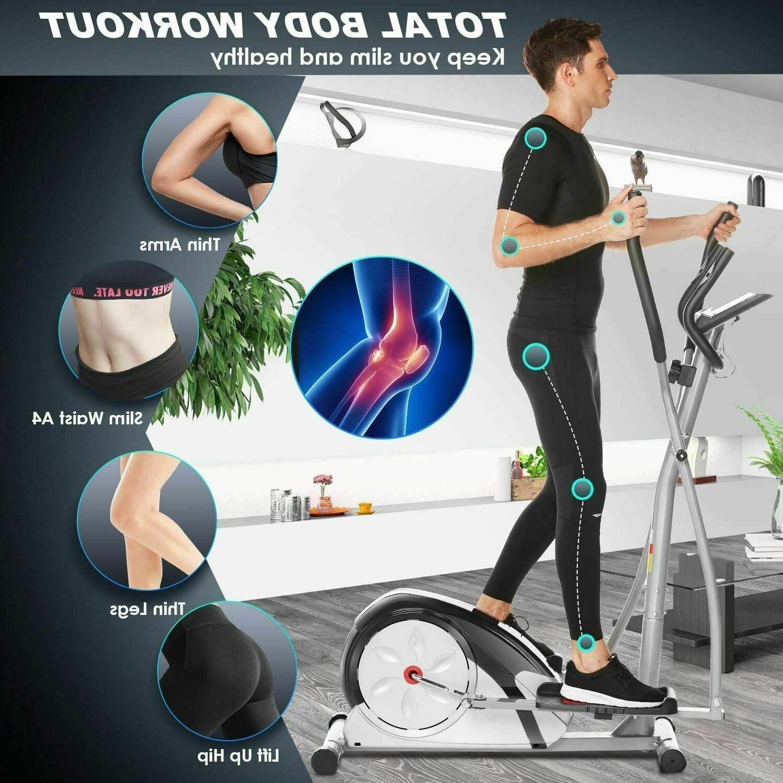 New Elliptical Resistance Elliptical Exerciser Workout