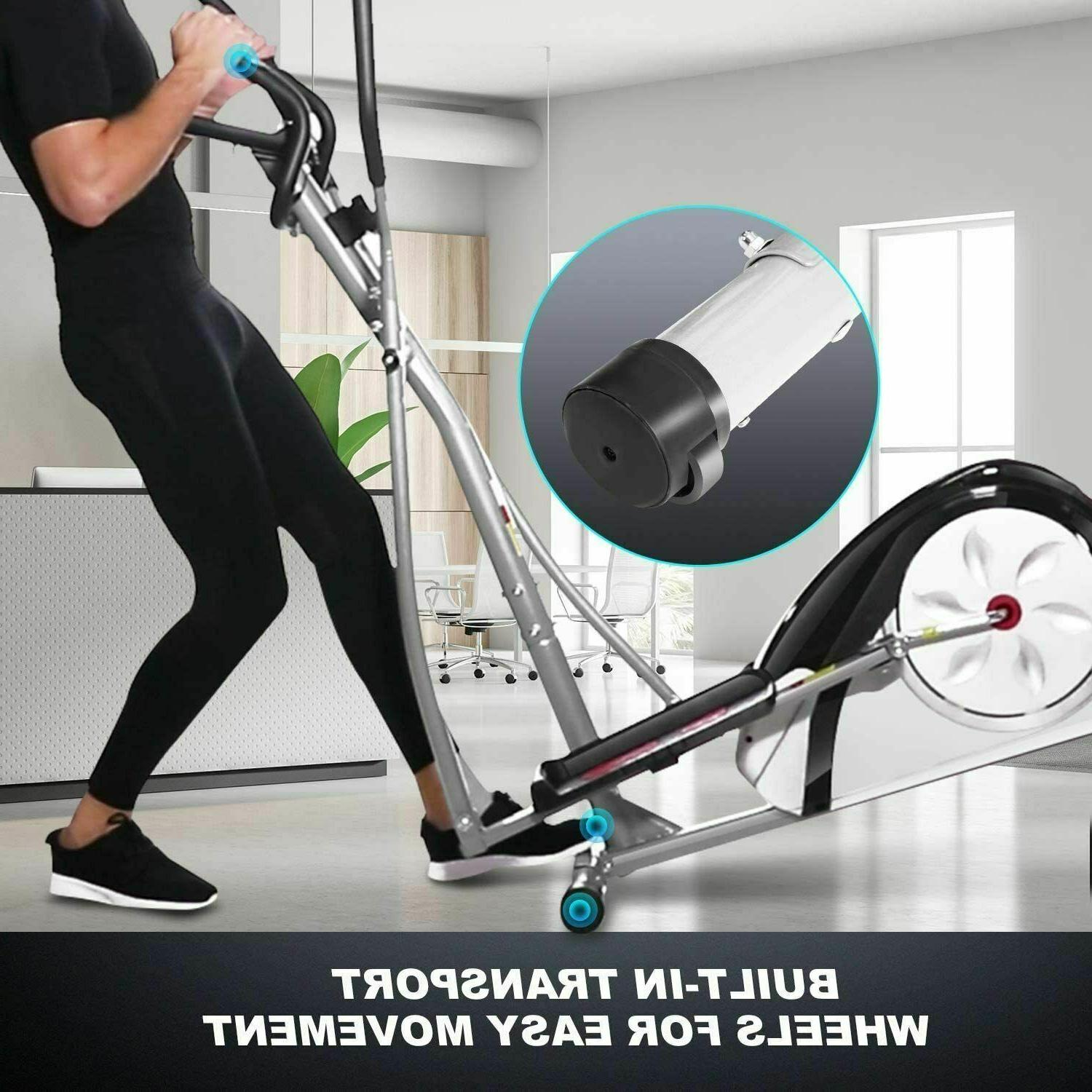 New Machine, 8-Level Resistance Cardio Workout