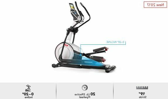 New E iFit Ready Drive Elliptical w/ Expert Assembly