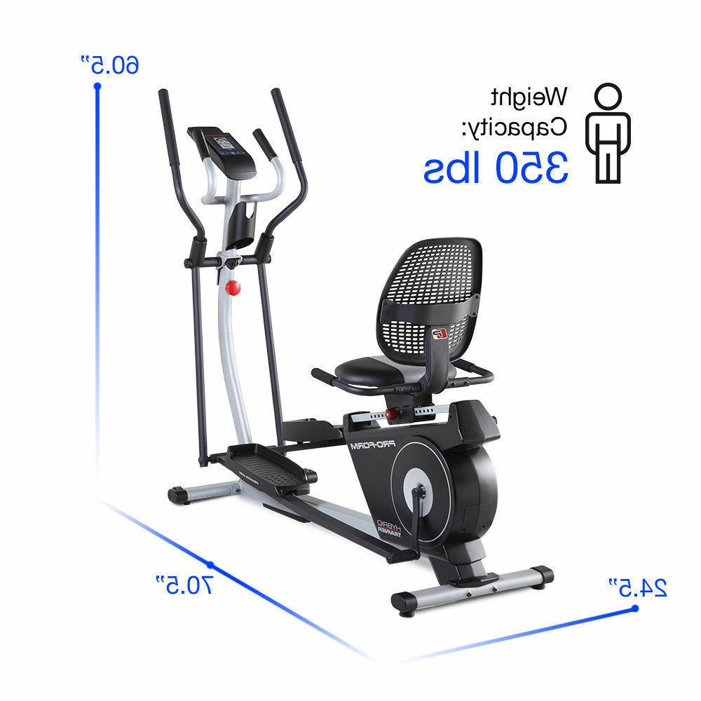 New Trainer Elliptical Exercise Machine,Threshold Delivery