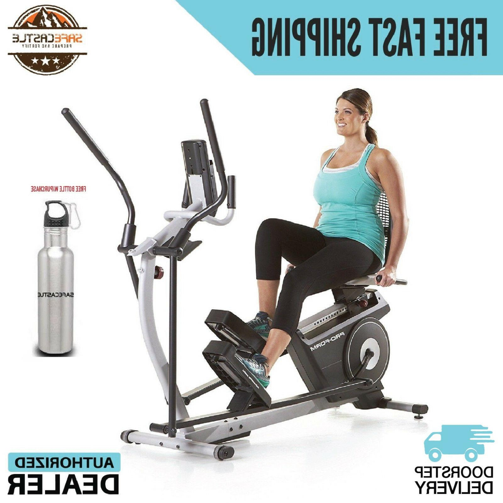 new hybrid trainer elliptical cardio exercise machine