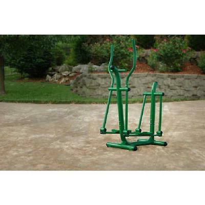 outdoor fitness strider elliptical durable low impact