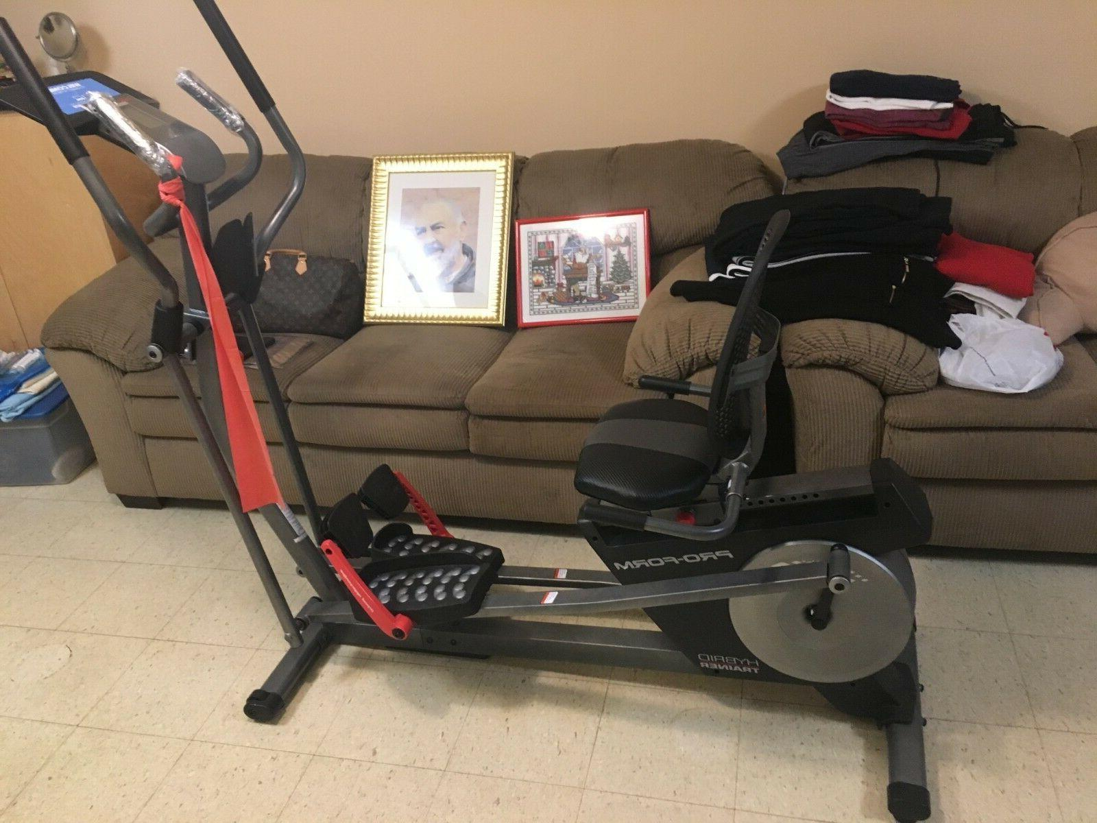 pfel05815 hybrid trainer pro elliptical machine pickup