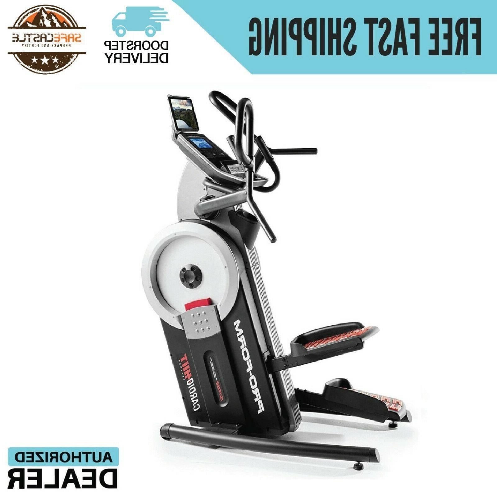 new cardio hiit elliptical trainer exercise pfel09915