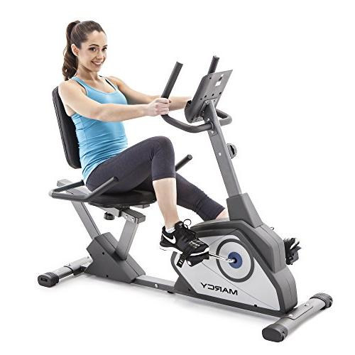 Marcy Recumbent Bike with 8 Resistance Levels