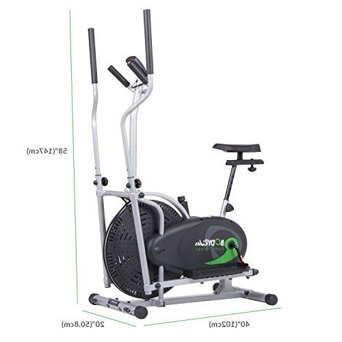 Body and with Seat and Easy Computer / Dual Trainer in 1 Office Fitness BRD2000