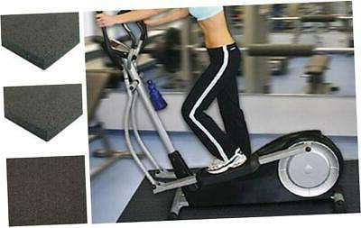 rubber cal elliptical heavy duty floor mat