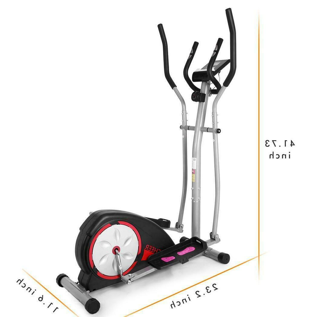 Magnetic Elliptical Fitness Exercise Equipment Gym