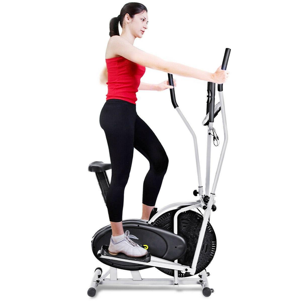 Stair Stepper Elliptical Machine Trainer Bike Cardio Home Gym