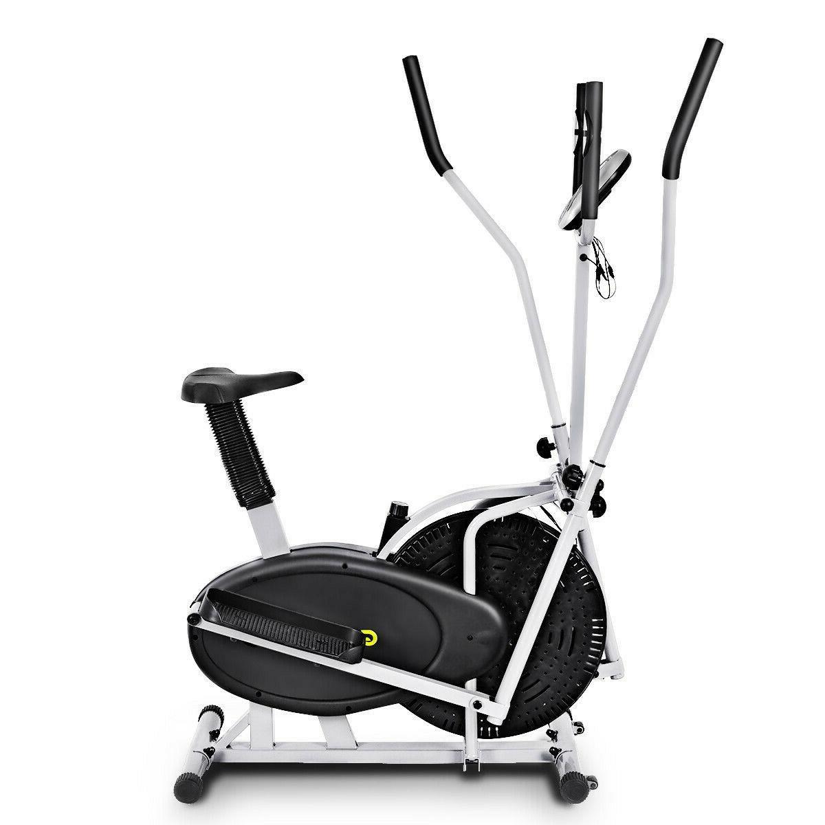 2 1 Bike Exercise Fitness Machine