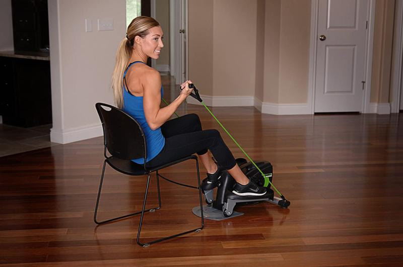 Stamina InMotion Compact Strider With Cords And Padded Adjus