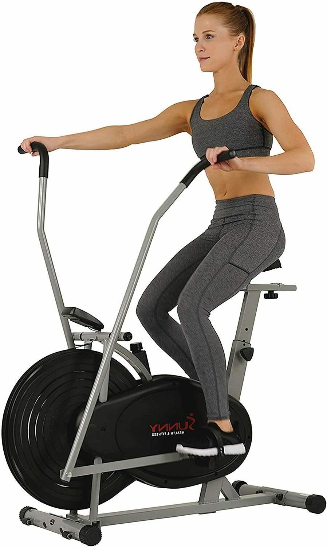 Sunny Air Resistance Hybrid Arms Legs Cardio Bike,