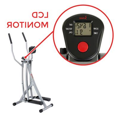 Sunny Trainer Glider Machine Cardio Workout