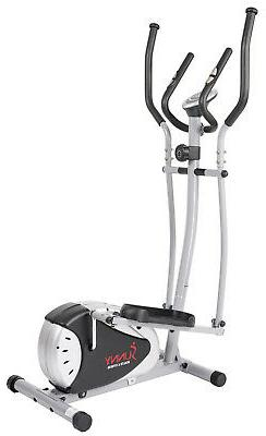 sunny fitness magnetic cardio exercise elliptical trainer