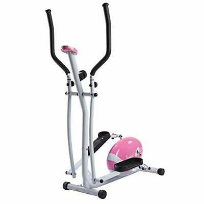Sunny P8300 Pink Magnetic Elliptical Trainer Elliptical