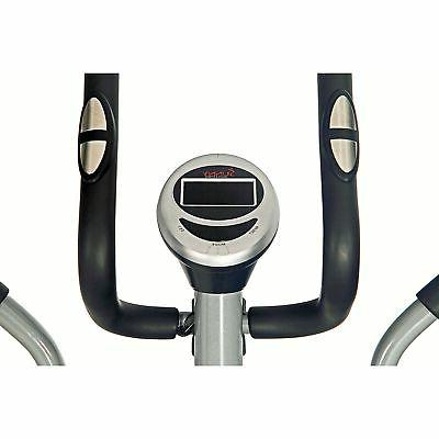 Sunny and Fitness Magnetic Elliptical Trainer Grey Home