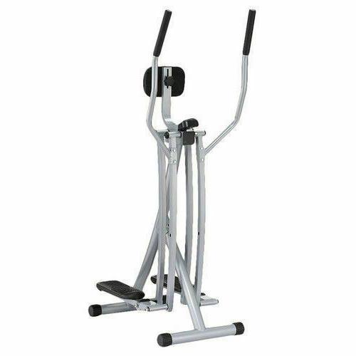 Sunny Health Fitness Air Walk Trainer Glider, Silver - SF-E9