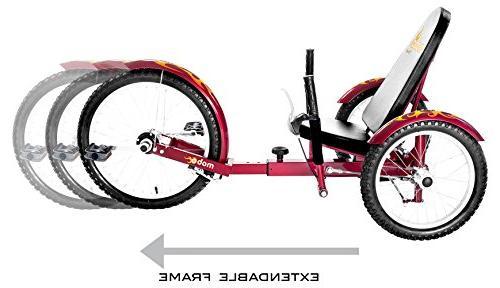 Mobo Pro Recumbent Trike. Tricycle & Men.