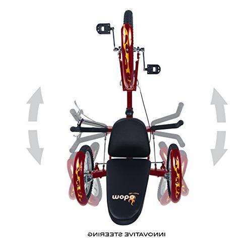 Mobo Triton Trike. Beach Tricycle for Men. Bike