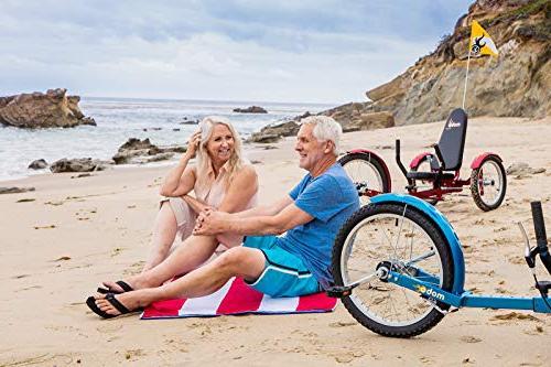 Mobo Pro Recumbent Trike. Tricycle for Women Men. Petal 3-Wheel